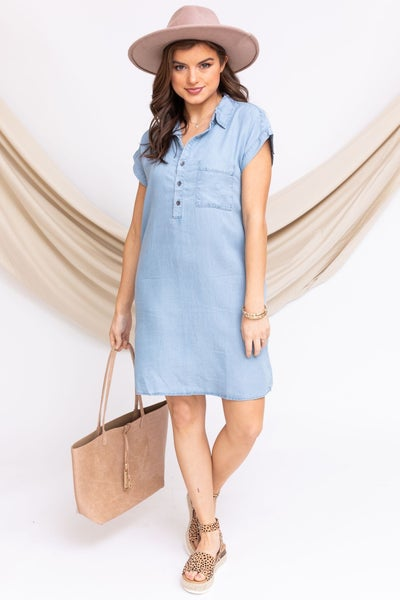 Spring Fling Tencel Dress