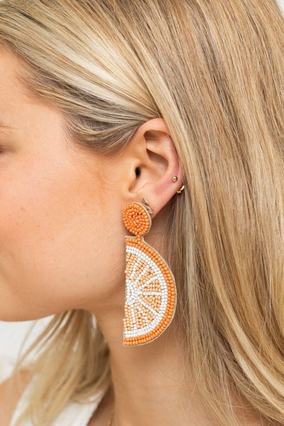 Slice of Citrus Earring *Final Sale*