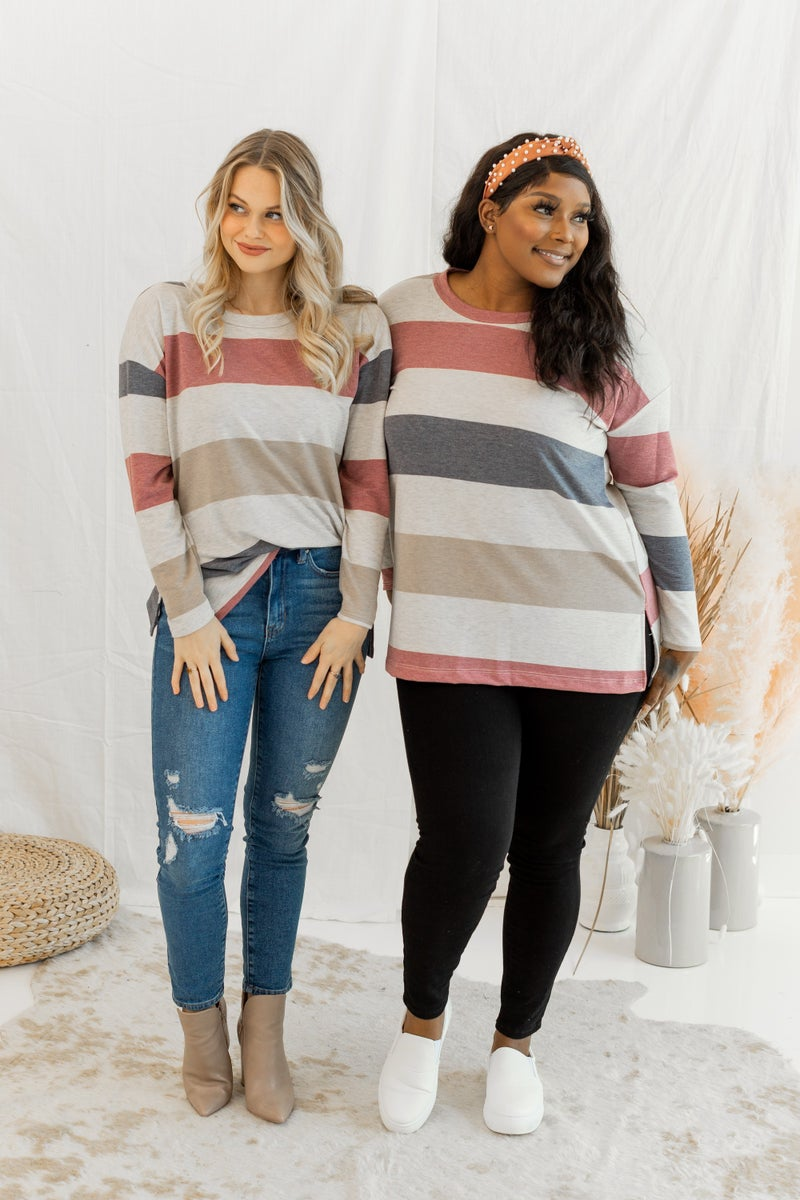 Bring in the Stripes Top