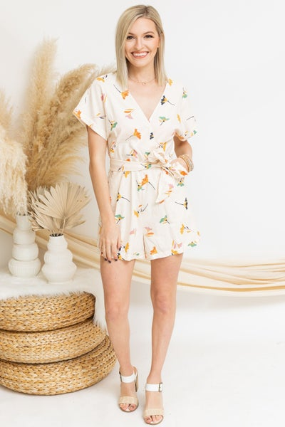 Lily of the Valley Romper