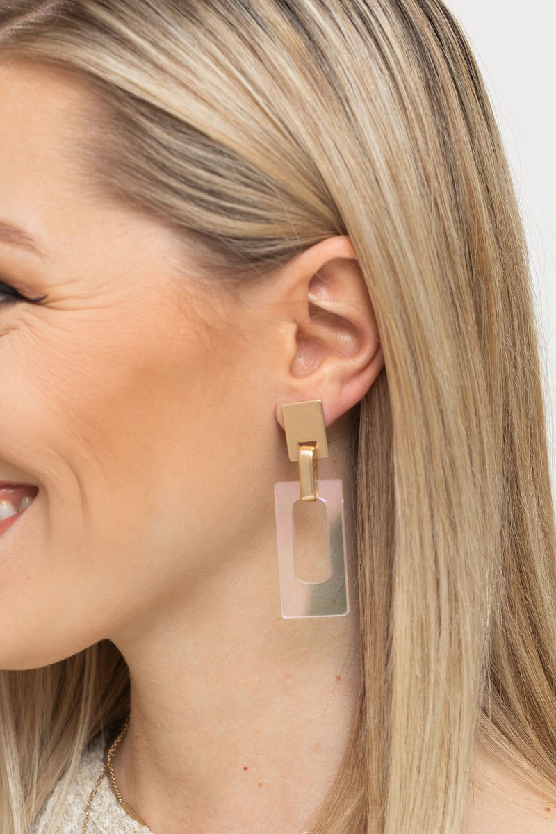 Clear the Way Earring *Final Sale*