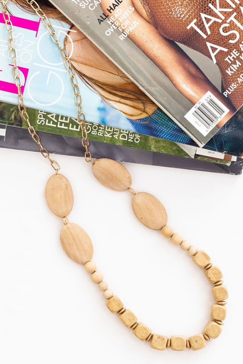 Built Around Time  Necklace *Final Sale*