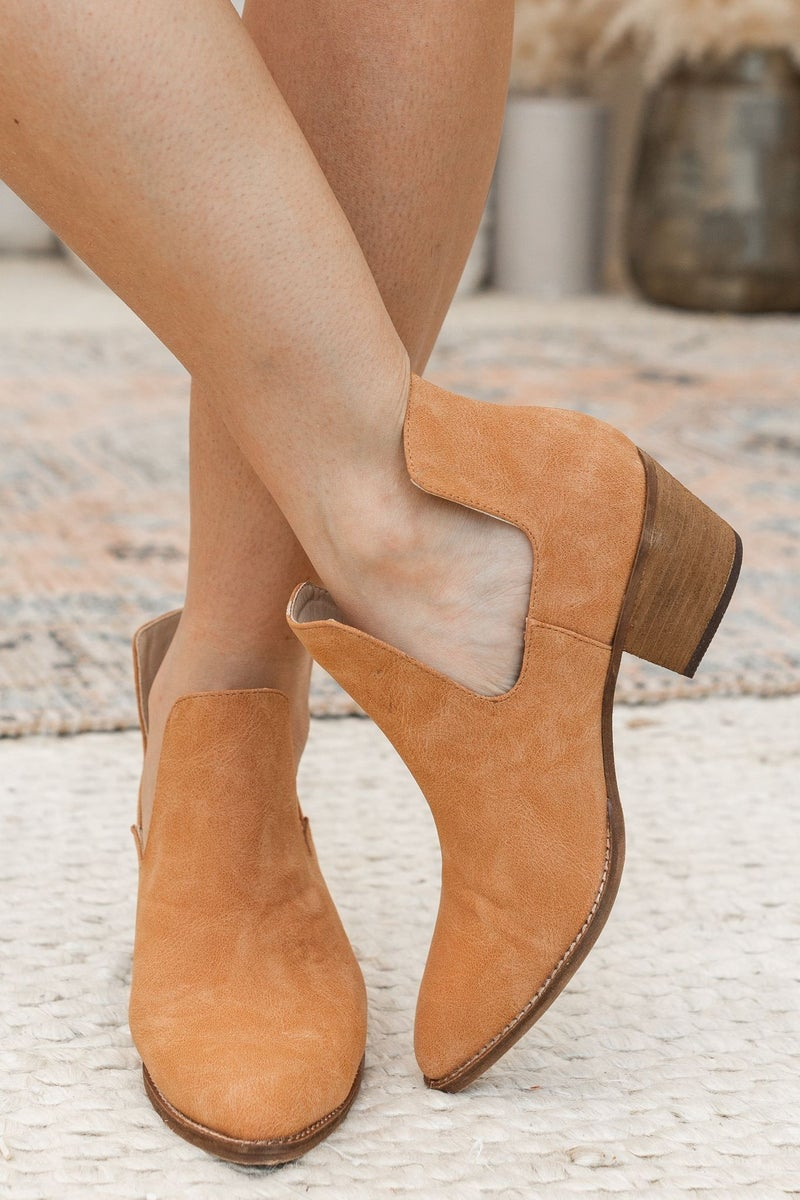 Suede My Way Bootie