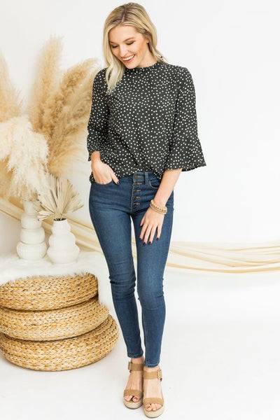 Doting Over Dots Top