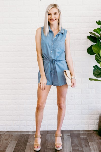Headed This Way Romper