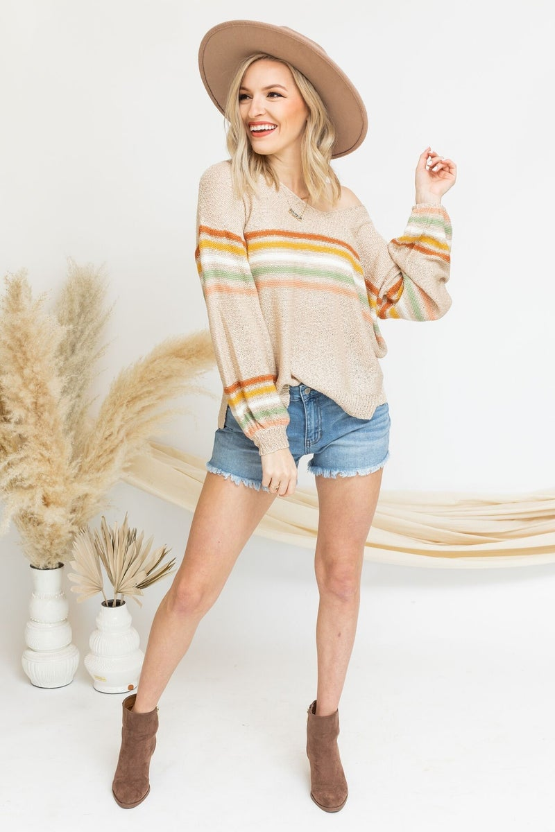Lighter Times Sweater