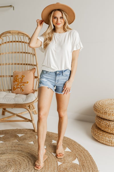 Not Your Basic Tee Top