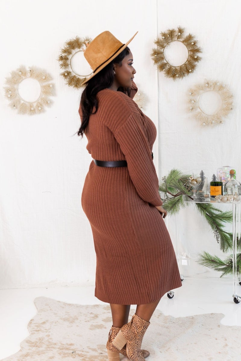 Picture Perfect Sweater Dress