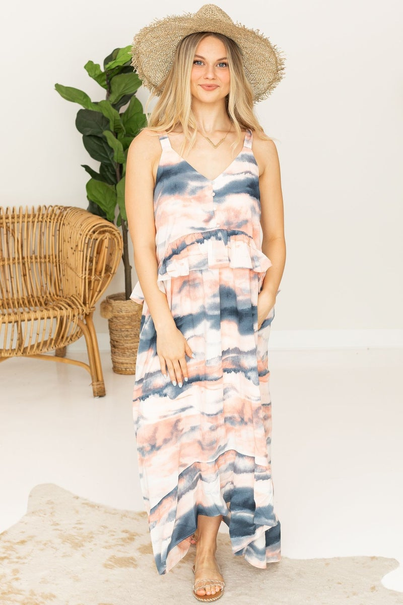 Making Reservations Maxi Dress