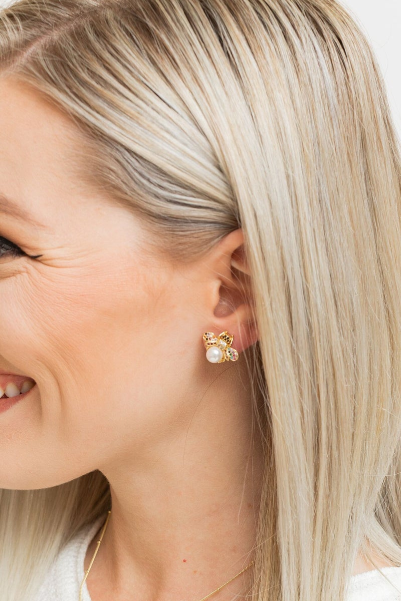 What's the Buzz Earring *Final Sale*