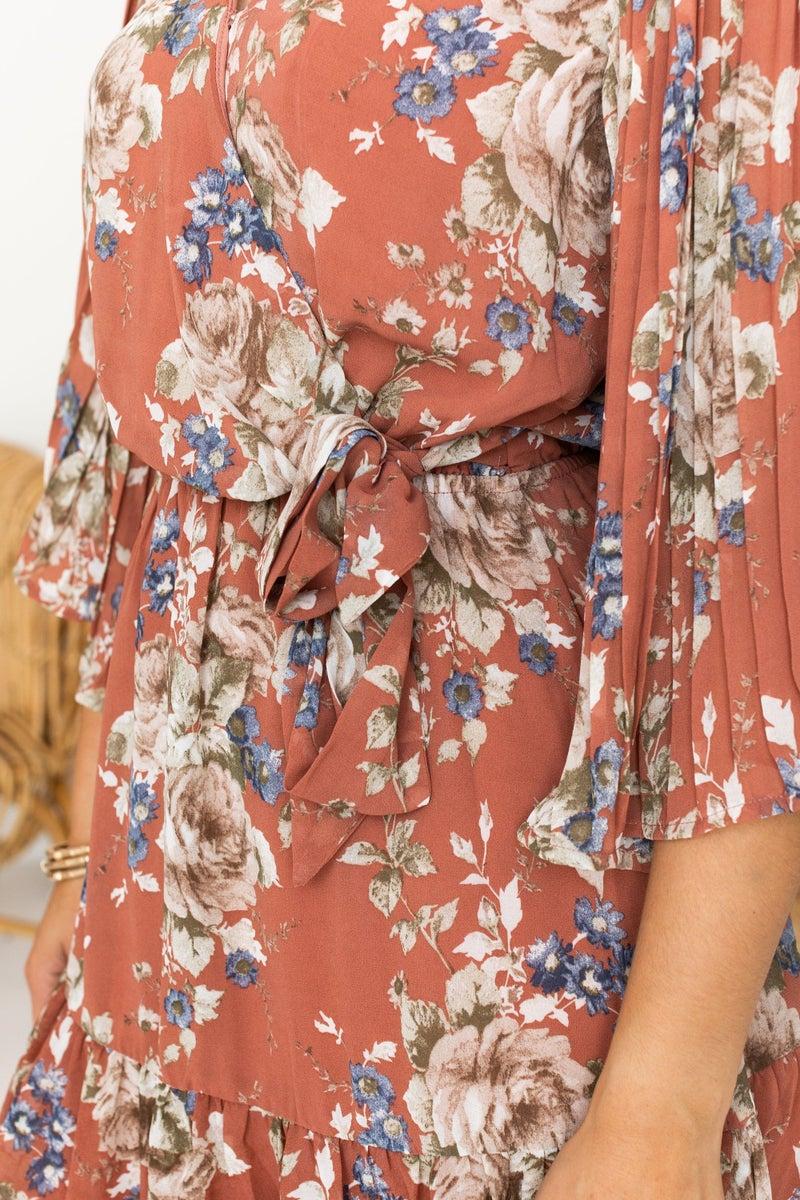 Floral Measures Dress