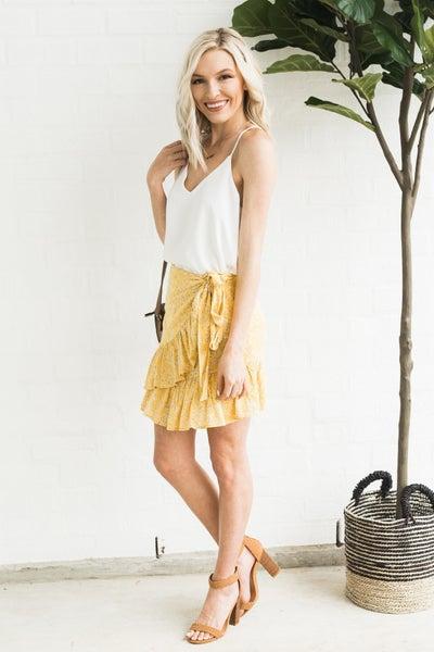 Lemon on the Edge Skirt
