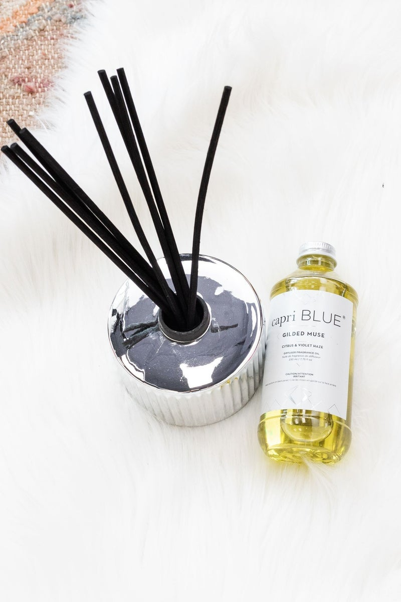 Citrus Violet Haze Gilded Reed Diffuser *Final Sale*