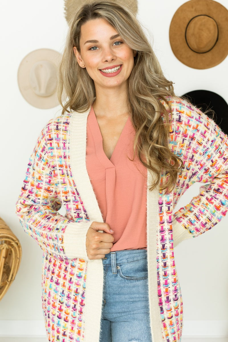 Knit Back in Time Cardigan