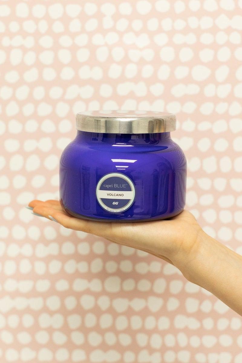 Volcano Blue Signature Jar *Final Sale*