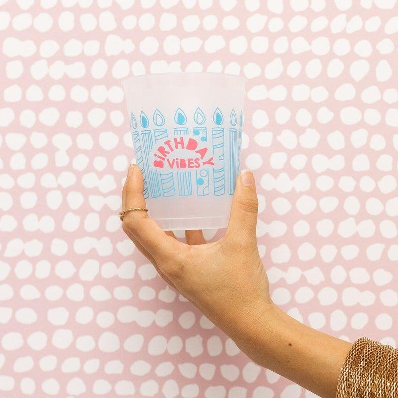 Birthday Vibes Cups