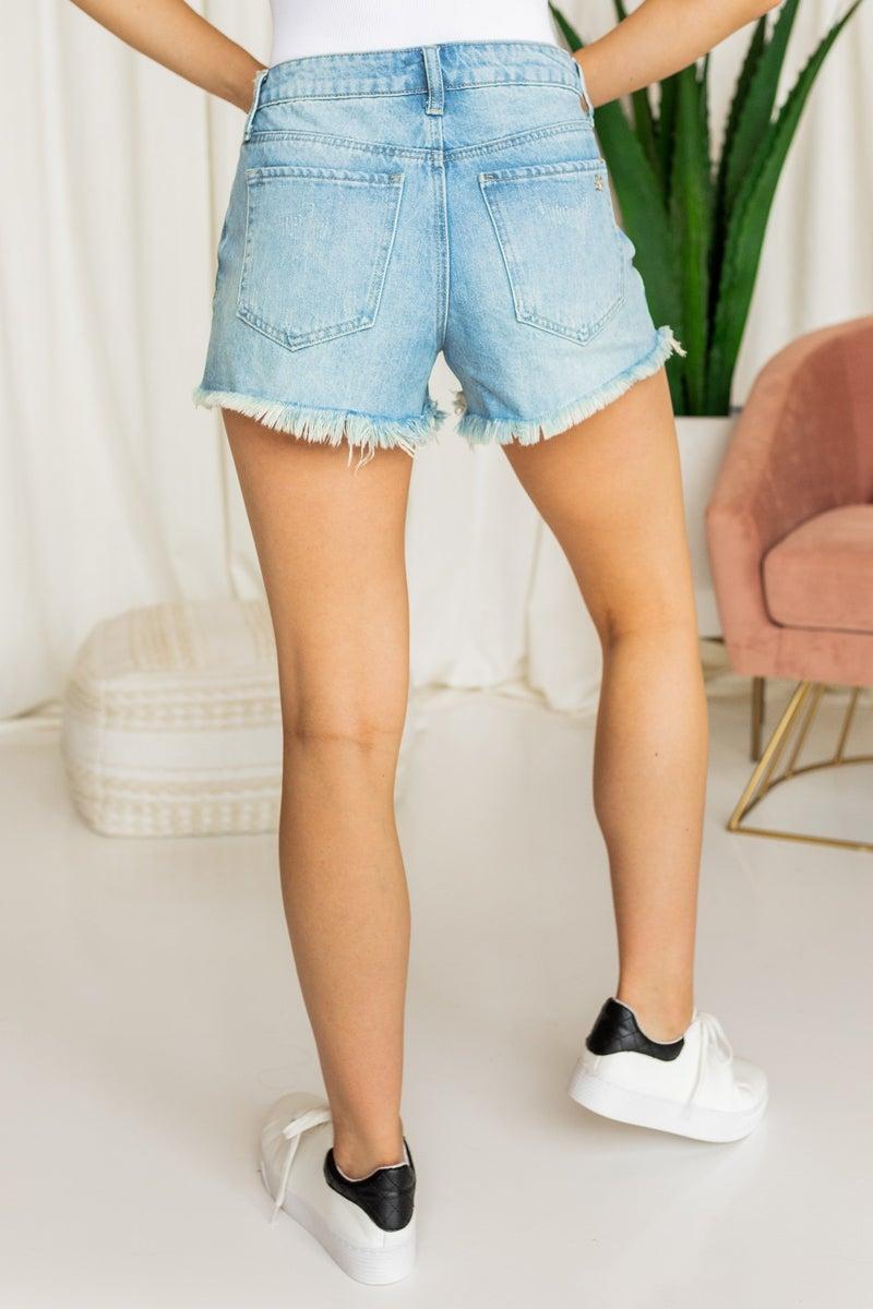 Heat Waves Denim Shorts