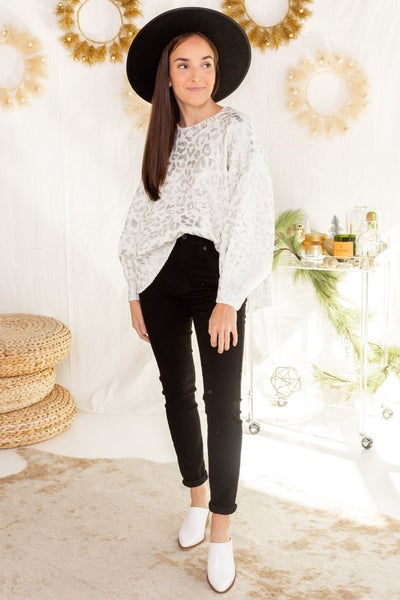 Shine Through Sweater