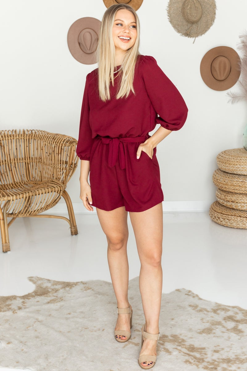 On the Guest List Romper