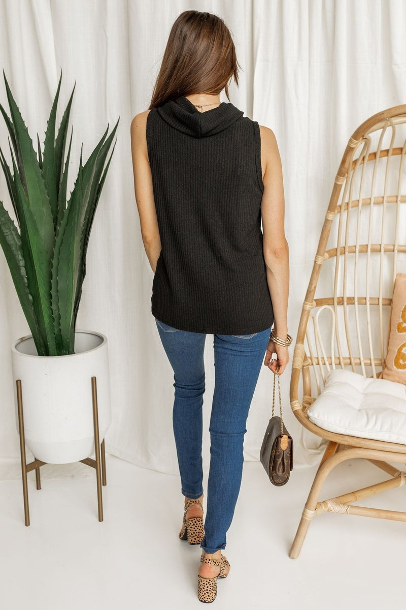 Stay On Top Cowl Neck