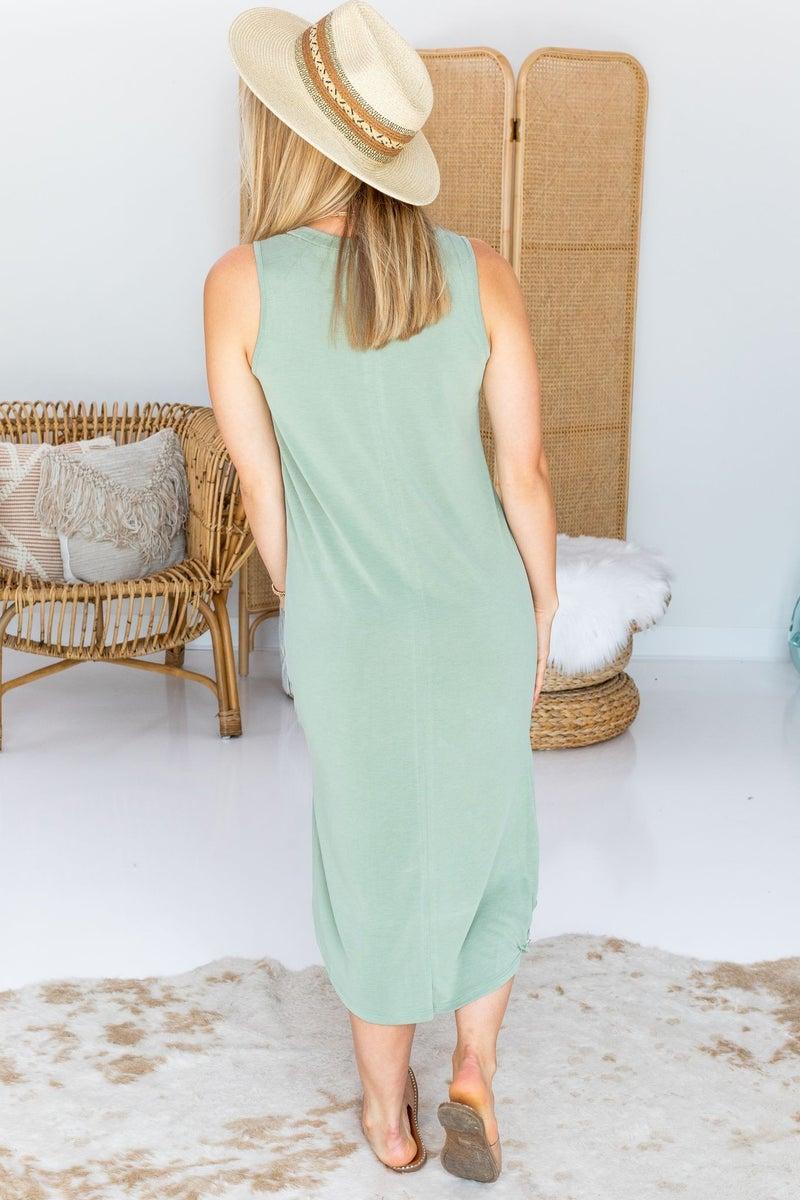 High Tides Midi Dress