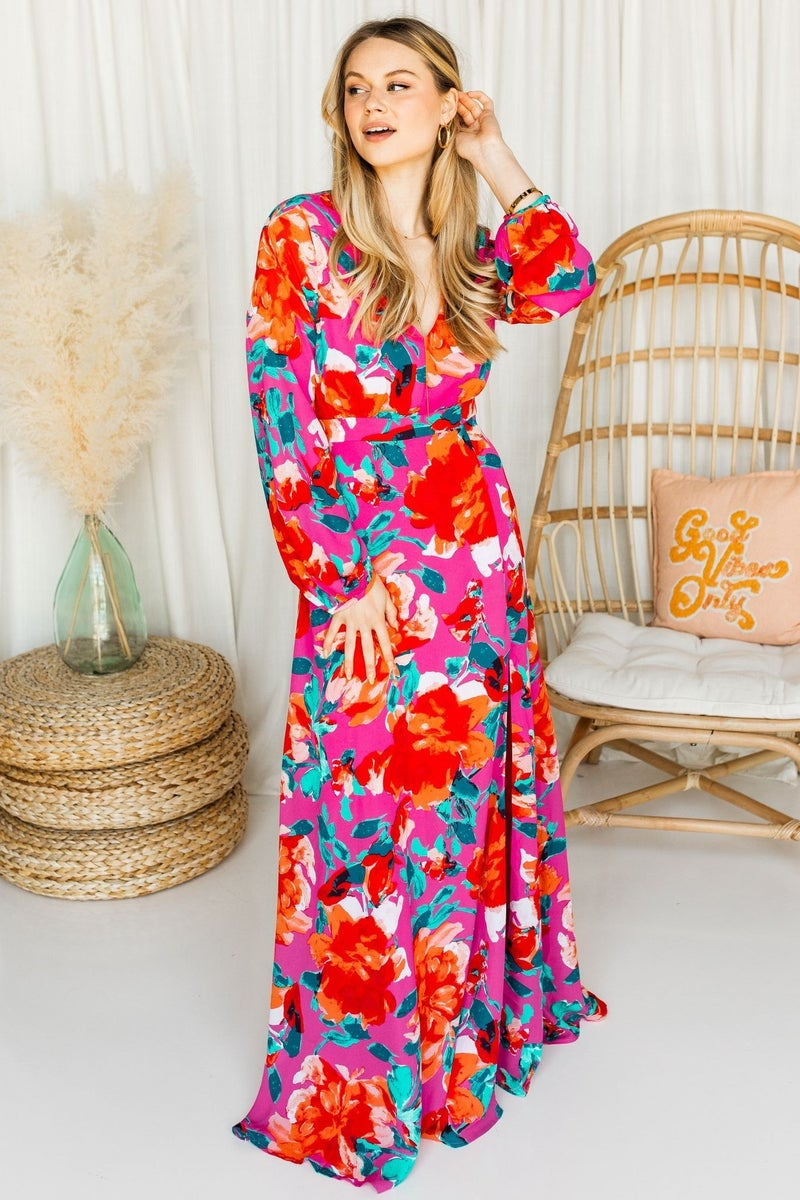 Bright Eyes Maxi Dress