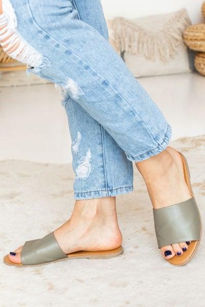 Slide Away Sandal