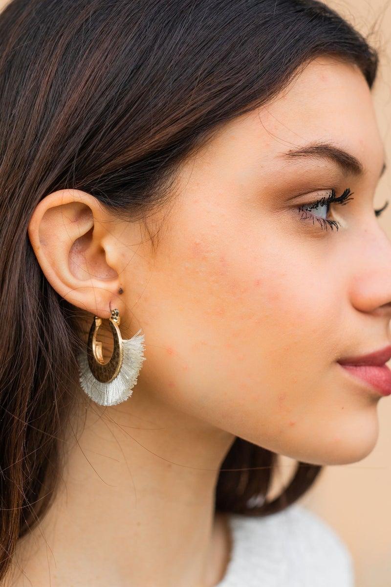 A little Fringe Earring *Final Sale*