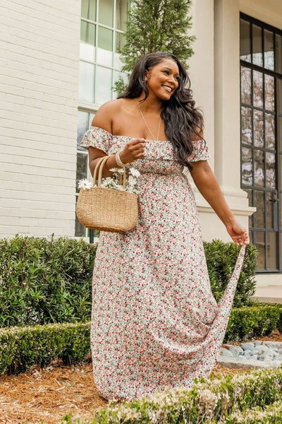 Down in the Garden Maxi Dress