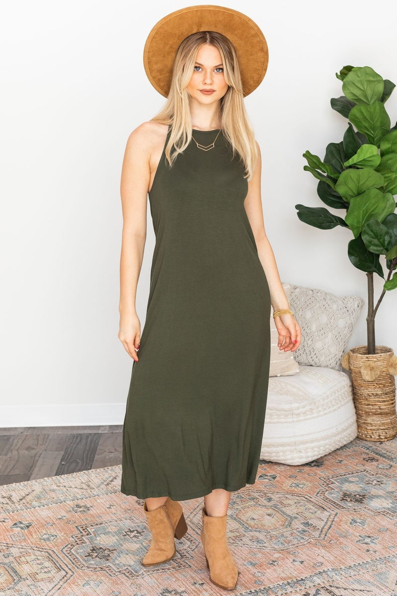 Come My Way Midi Dress