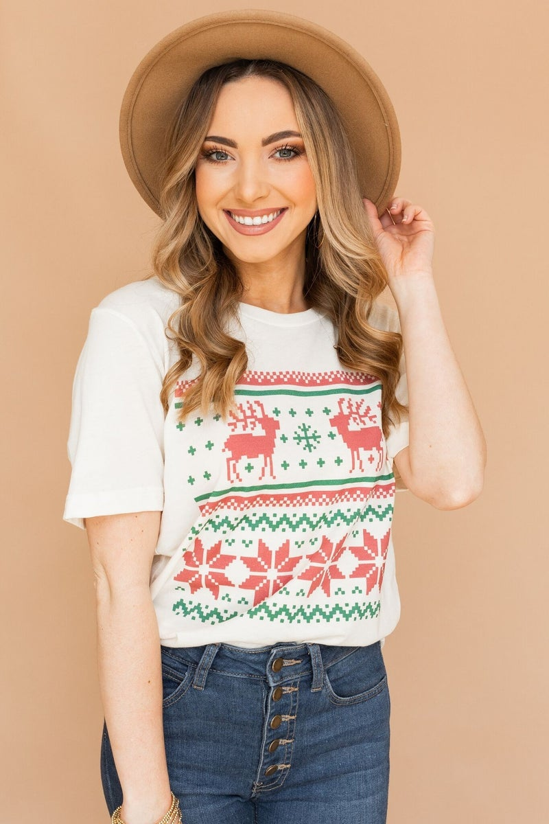 Not Your Ugly Christmas Sweater Tee
