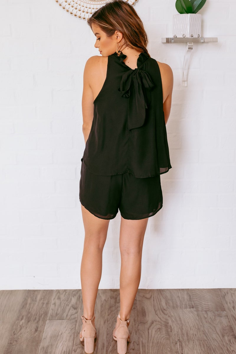 Having a Ruffle Day Romper