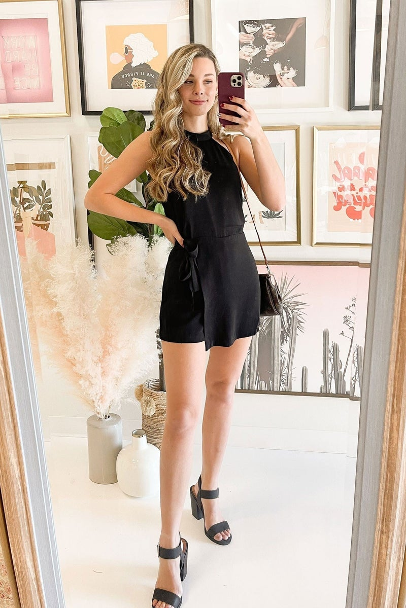 Cheers to the Night Romper