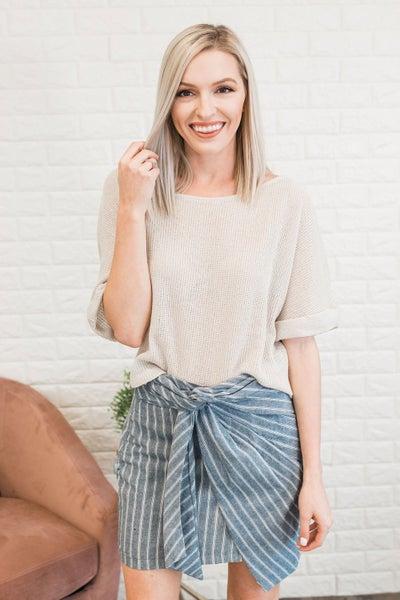 An Added Twist Skirt