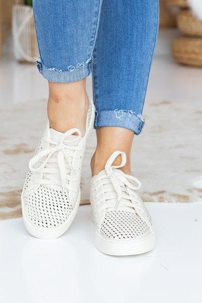 Peeking Through Sneaker