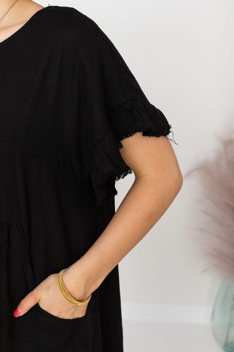 Fray Endings Dress