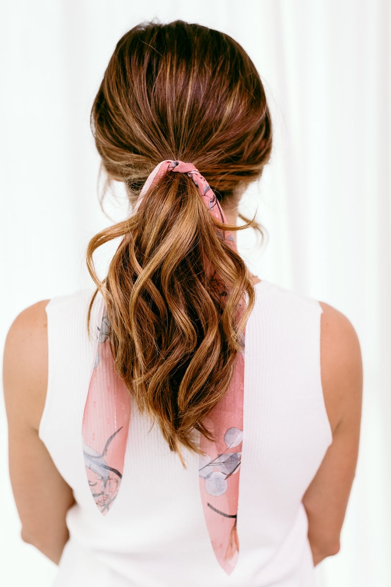 Floral of the Story Scrunchie