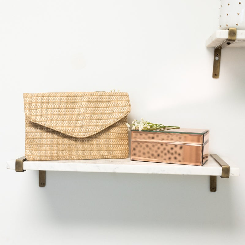 Your Way Woven Clutch *Final Sale*