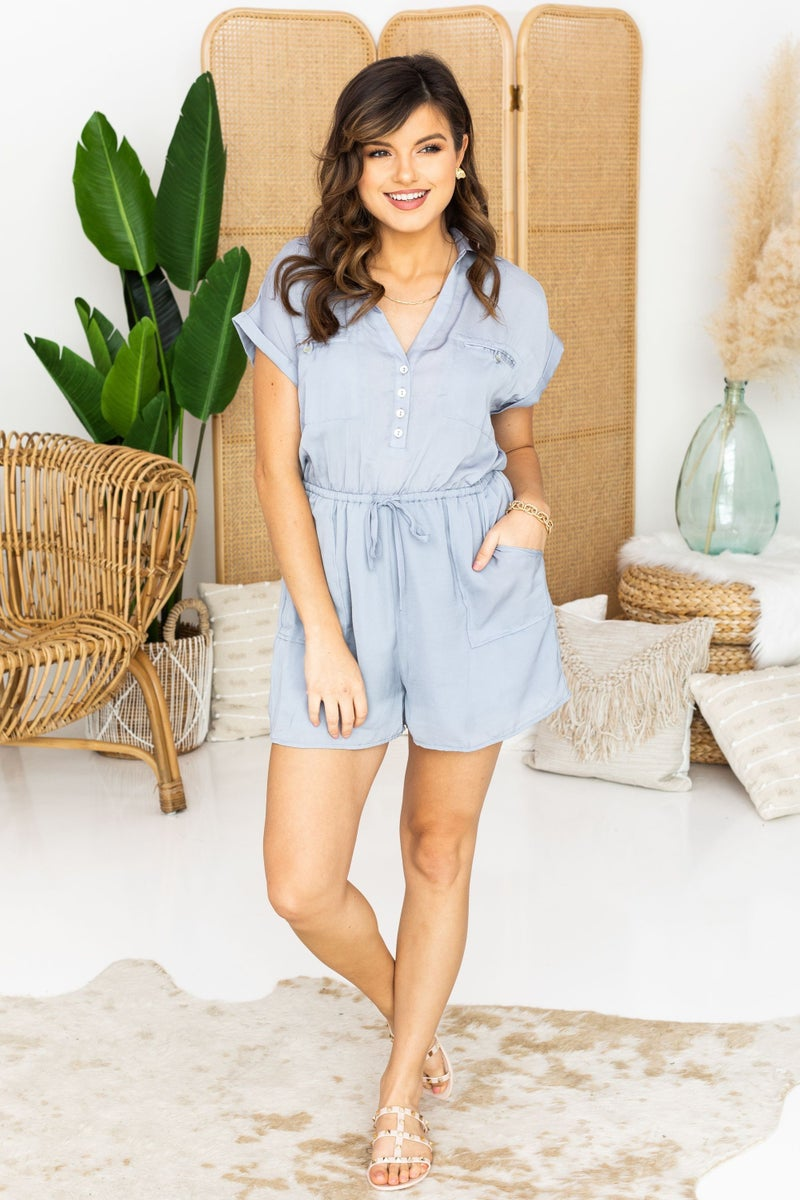 Suit Up for the Weekend Romper