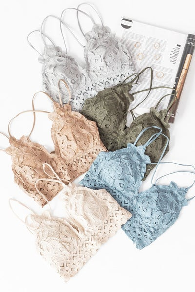 Keep a Secret Bralette *Final Sale*