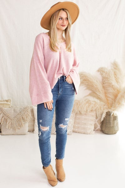 For the Frills Sweater
