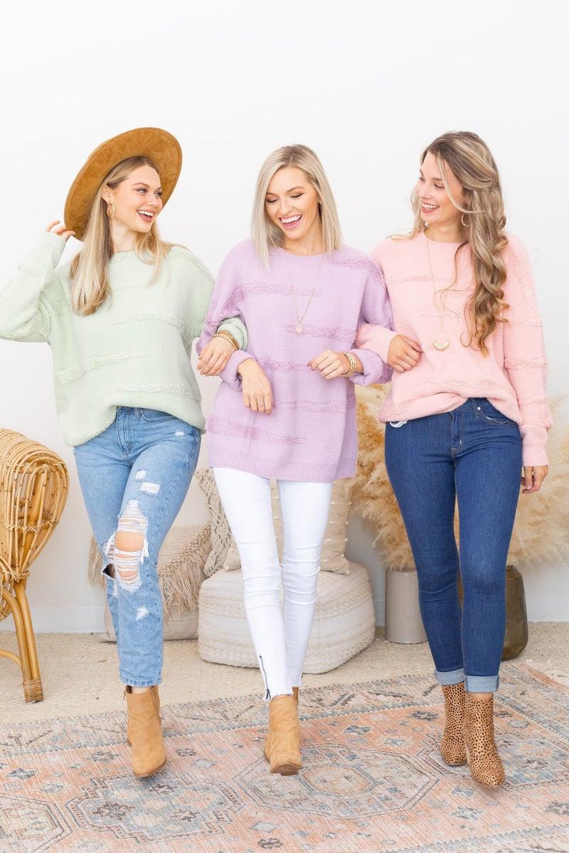 Pastel Pleasures Sweater