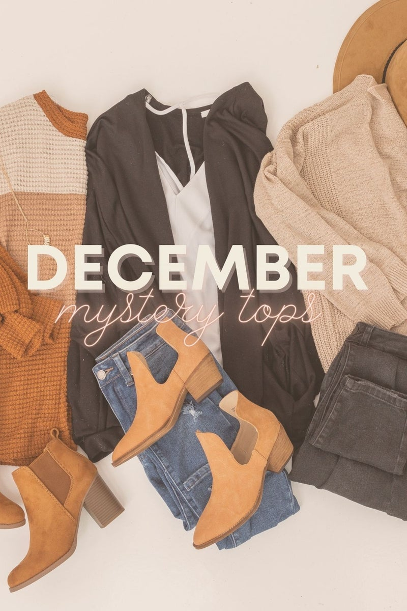 December Mystery Tops *Final Sale*