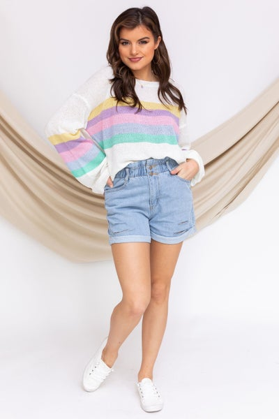 Rainbow Surprise Sweater
