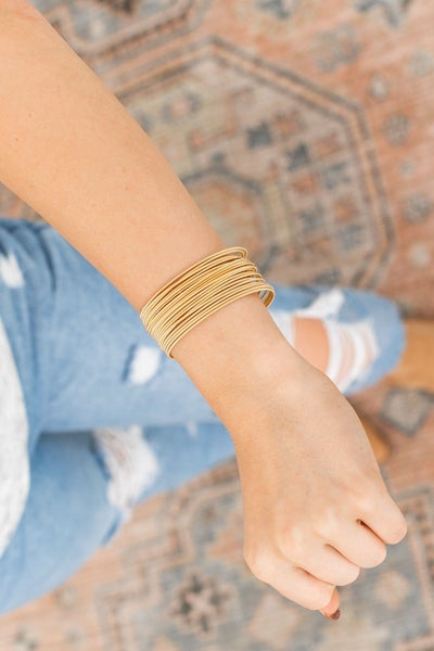 Wrapped in Gold Bracelet *4 colors*