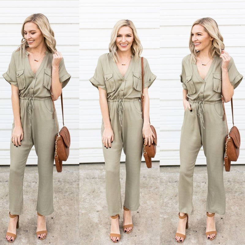 Jump into Spring Jumpsuit