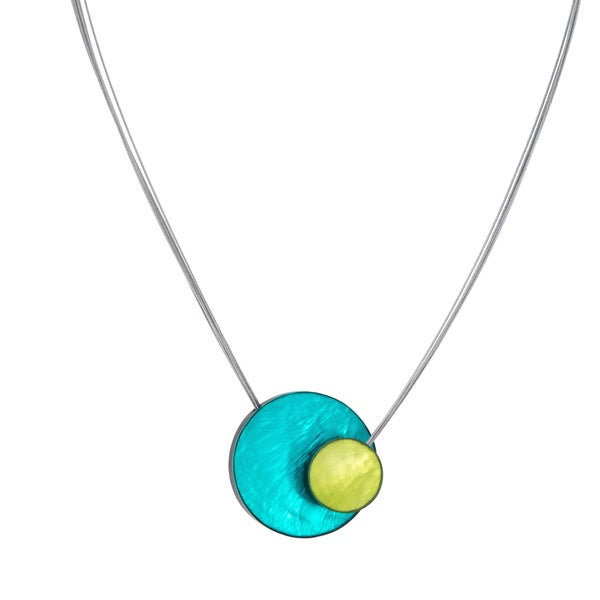 AMARA Necklace (Turquoise and Green)