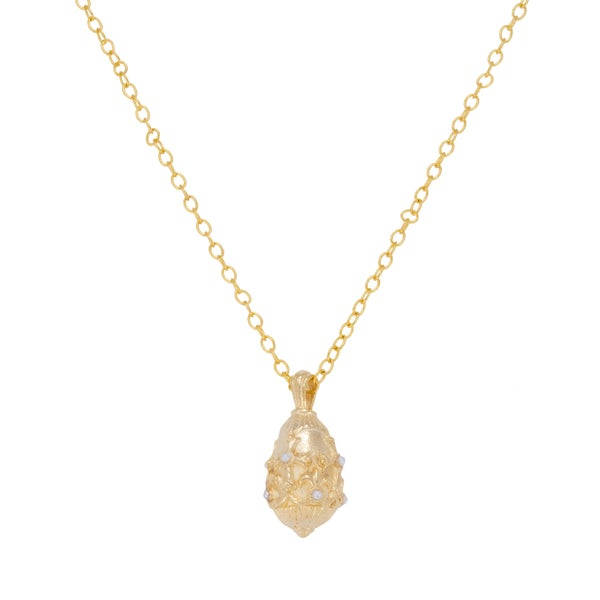 PHOEBE Necklace (Gold and Pearl)