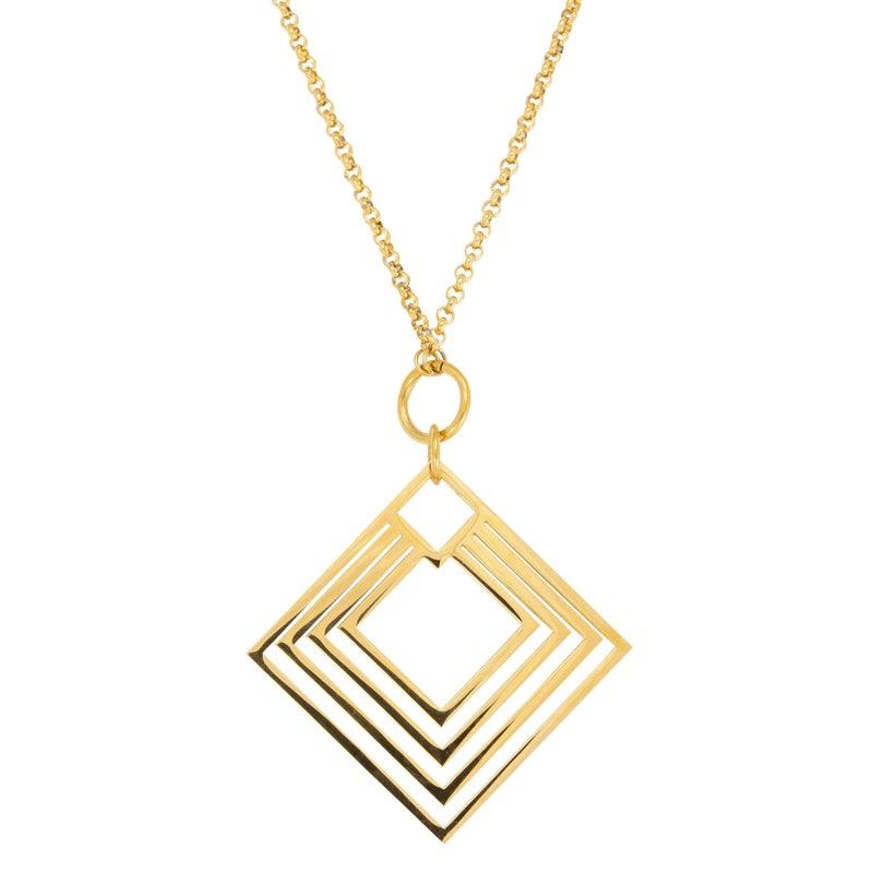 DIAMOND Pendant (Gold)