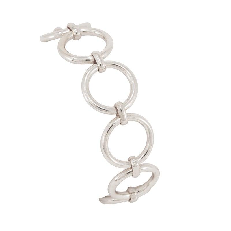 LYDIA Silver rings bracelet